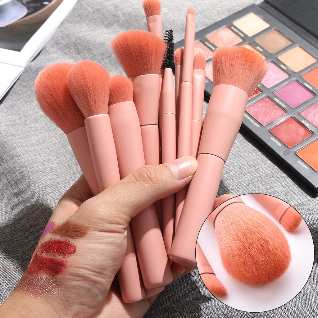 Makeup Brush Set - 10Pcs - elferiah.com