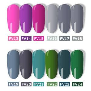 Gel Nail Polish - 60 Colors - elferiah.com