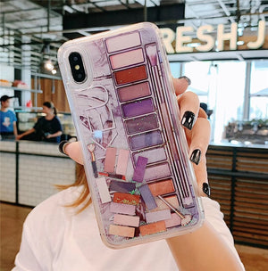 Eyeshadow Palette Quicksand iPhone Case - elferiah.com
