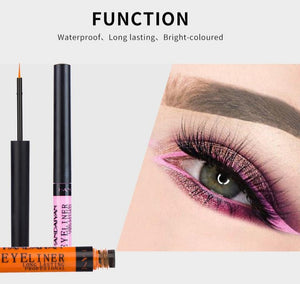 Waterproof Liquid Eyeliner - 12 Colors - elferiah.com