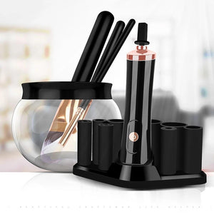 Electric Makeup Brush Cleaner & Dryer - elferiah.com