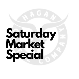 Saturday Market Special - Local Pickup Only