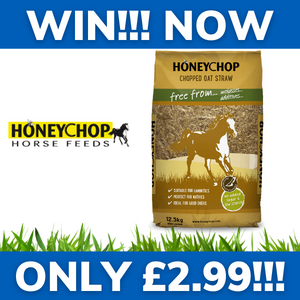 WIN!!! - WINTERS SUPPLY OF HONEYCHOP HORSE FEED