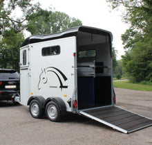 Load image into Gallery viewer, WIN!!! - CHEVAL LIBERTE DOUBLE HORSE TRAILER WITH TACK ROOM