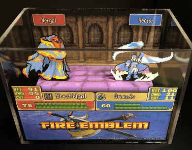 Fire Emblem: The Blazing Blade - Nergal BOSS BATTLE