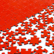 1000-piece Impossible Red Jigsaw Puzzle