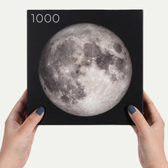 The Earth Series: 1,000-piece Circle Moon Jigsaw Puzzles