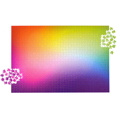1,000-piece Rainbow Gradient Jigsaw Puzzle