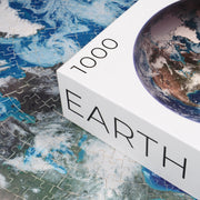 Pre-order from the Earth Series: 1,000-piece Circle Sun Jigsaw Puzzles - Blue Kazoo