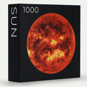 Pre-order from the Earth Series: 1,000-piece Circle Moon Jigsaw Puzzles - Blue Kazoo