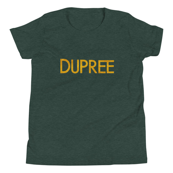 Youth Short Sleeve T-Shirt - Heather Forest - DUPREE