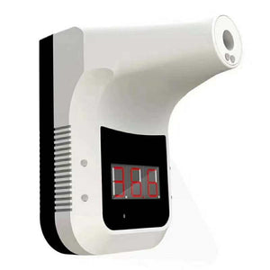 Wall-Mounted Surveillance Four Head Mounted Infra Red Thermometer Wall Mount for Shops & Offices Contactless