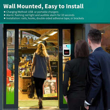 Load image into Gallery viewer, Wall-Mounted Surveillance Four Head Mounted Infra Red Thermometer Wall Mount for Shops & Offices Contactless