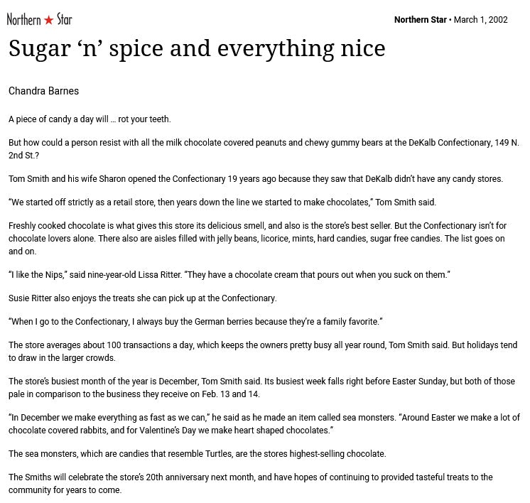 Sugar n spice and everything nice 3/1/02