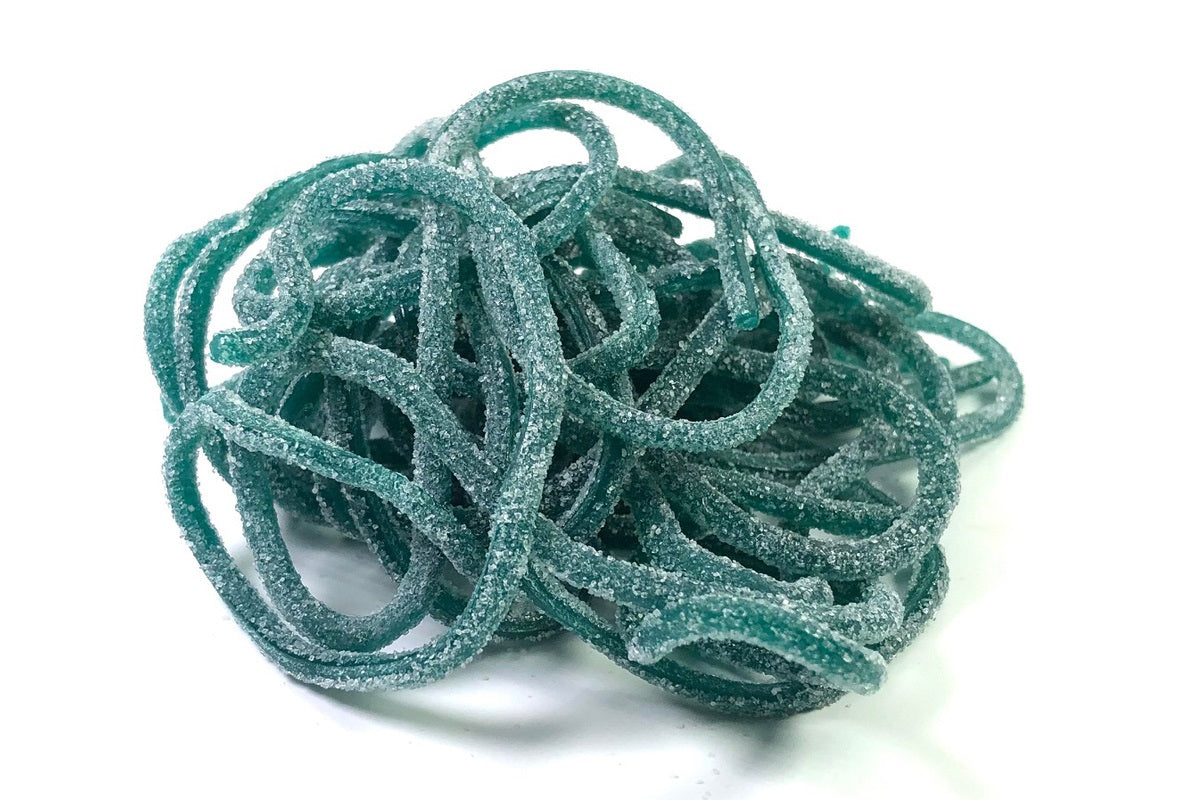 Sour Blue Raspberry Licorice Laces
