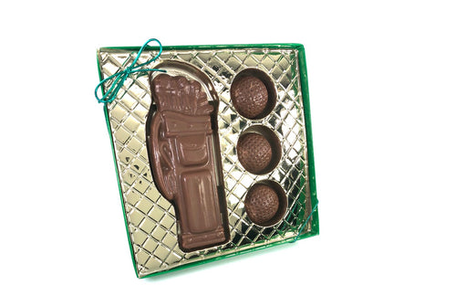 Golfer's Chocolate Gift Box
