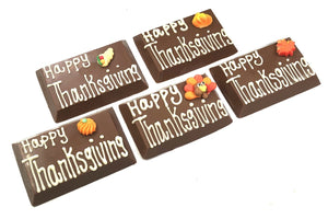 Happy Thanksgiving Message Bars
