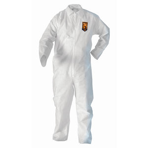 Kleenguard A20 White Coveralls (Case of 25)
