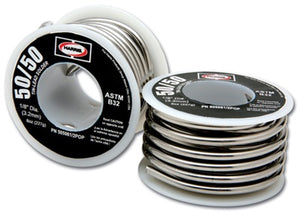 50R31 50/50 1/16 ROSIN CORE SOLDER 1# SPOOL
