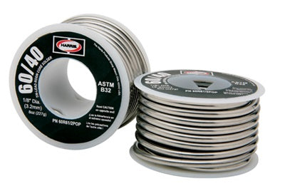 40A61 40/60 1/8 ACID CORE SOLDER (1# SPOOL)