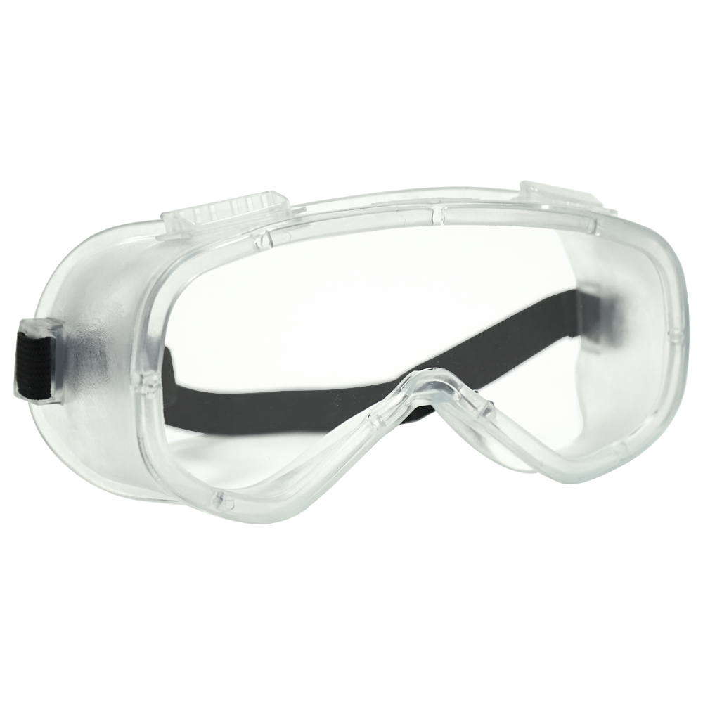 Clear Splash Goggle with Vents
