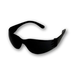 LIGHT ARMOUR SMOKE WRAP AROUND SAFETY GLASSES