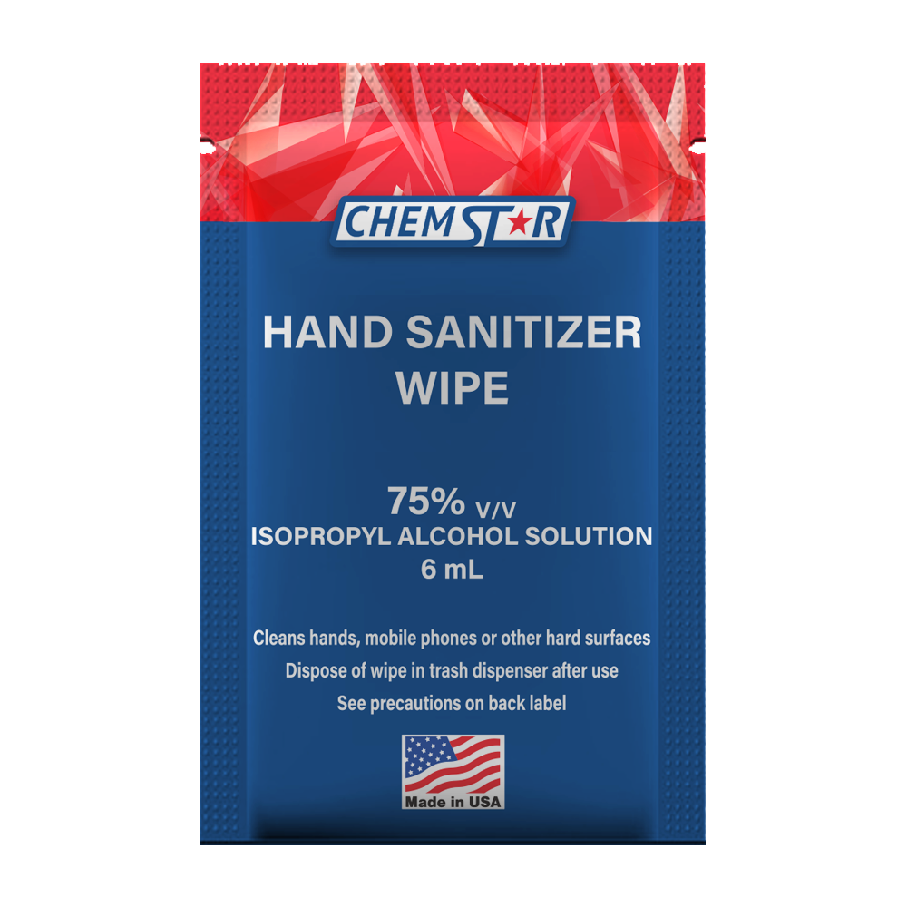 6 ml Hand Sanitizer Wipe, 75% Isopropyl Alcohol Solution 6
