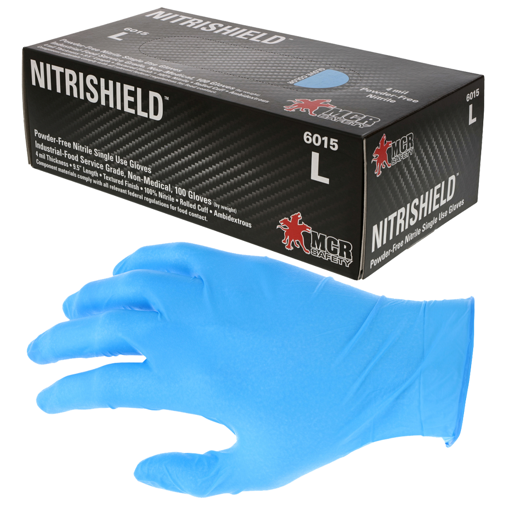Nitrile Gloves Powder Free (1 Box)