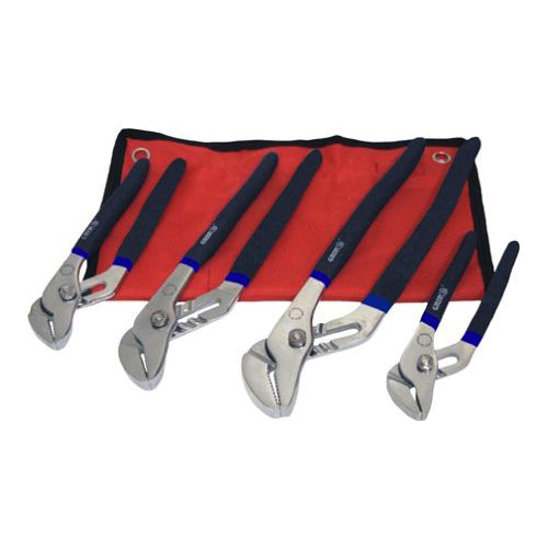 4 PIECE GROOVE JOINT PLIERS SET