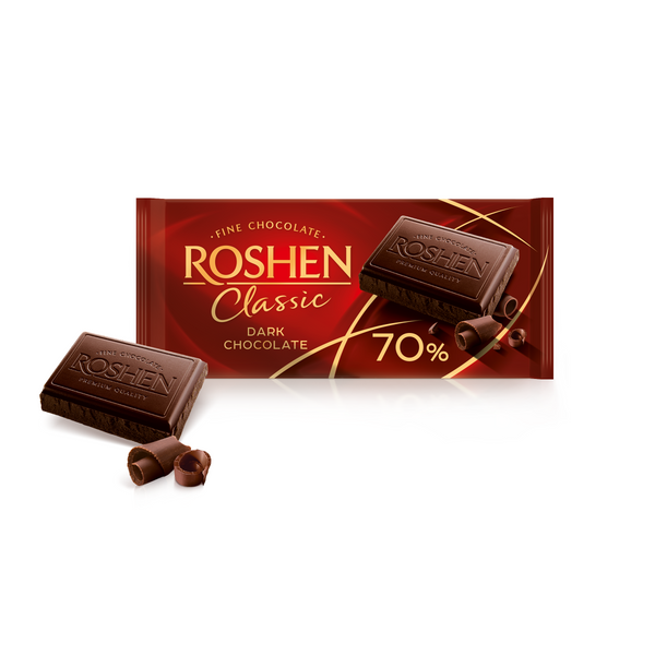 Roshen Classic Dark Chocolate 70%