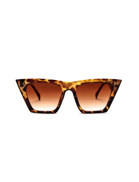 HAILEY EYEWEAR - LEOPARD BROWN