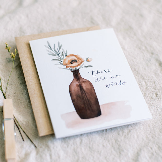 There Are No Words | Greeting Card 1
