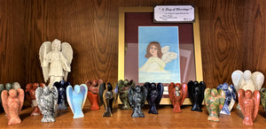 Crystal Angel Statues