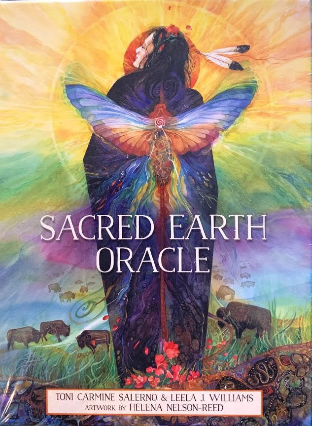 Sacred Earth Oracle Deck and Guidebook
