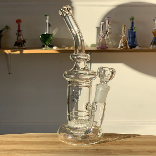 heady water pipe, heady glass, clear, water pipe, heady glass water pipe