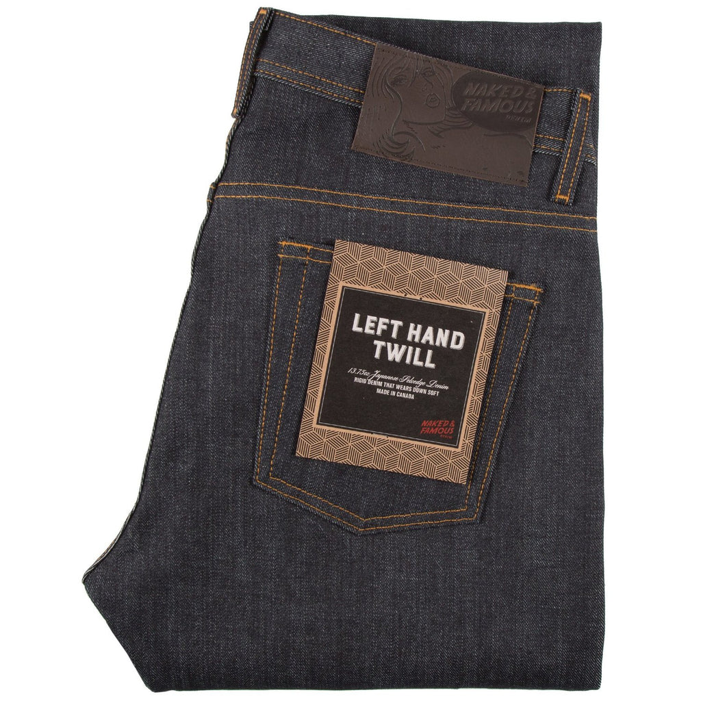 Naked and Famous Denim- Left Hand Twill Selvedge- Weird Guy