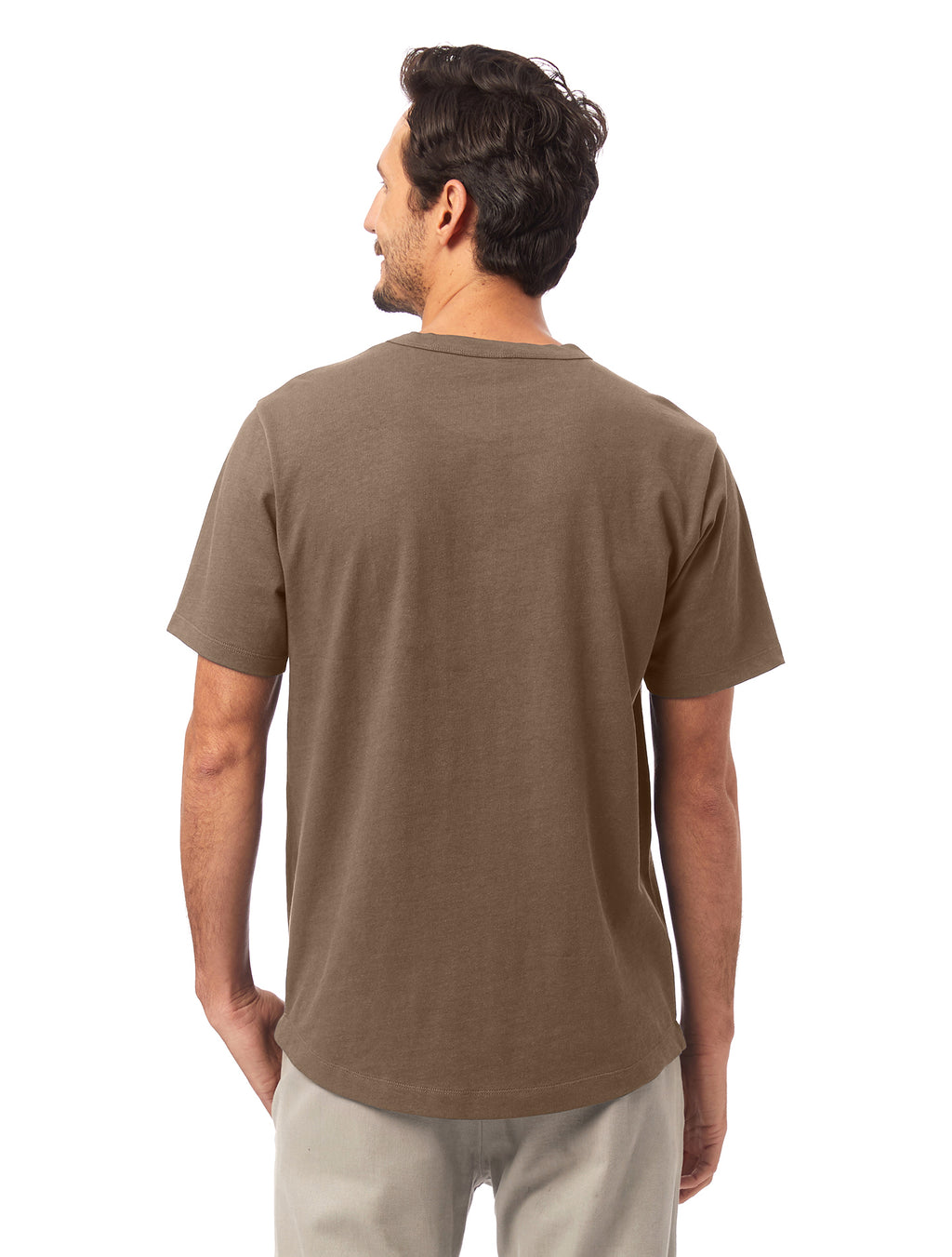 Alternative Apparel Hemp Blend T-Shirt- Oak