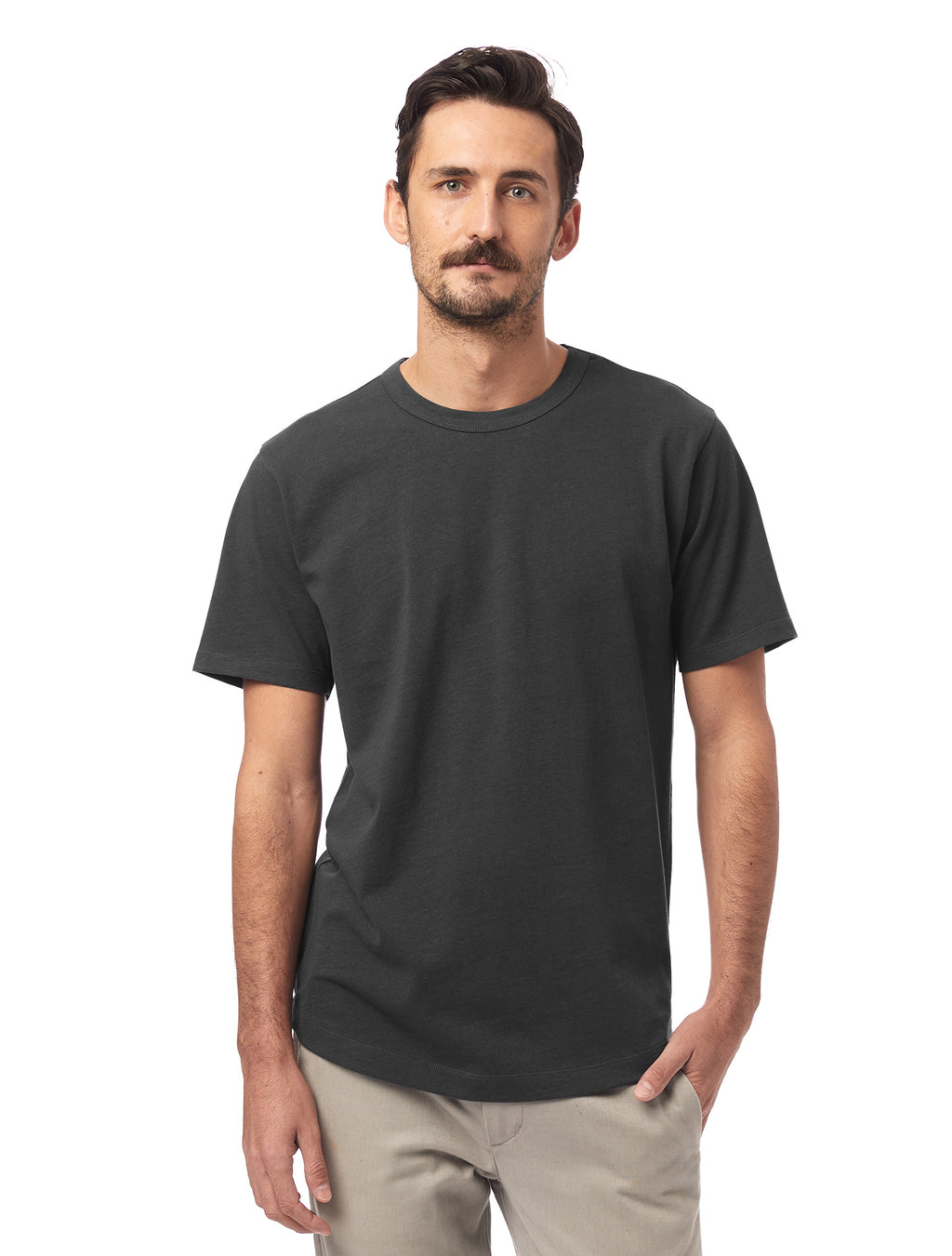 Alternative Apparel Hemp Blend T-Shirt- Shadow