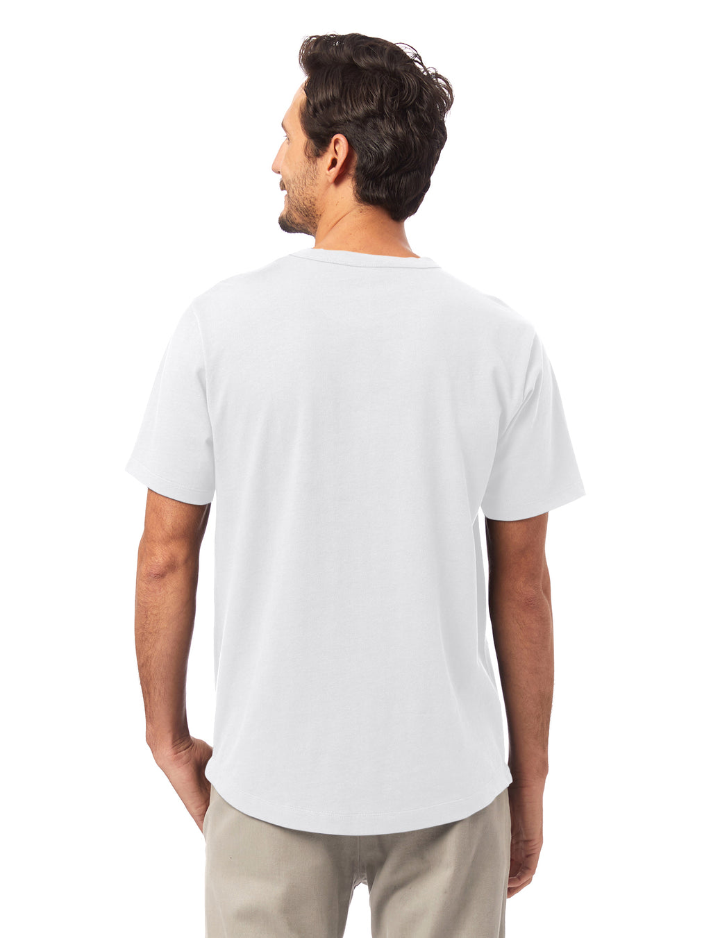 Alternative Apparel Hemp Blend T-Shirt- White