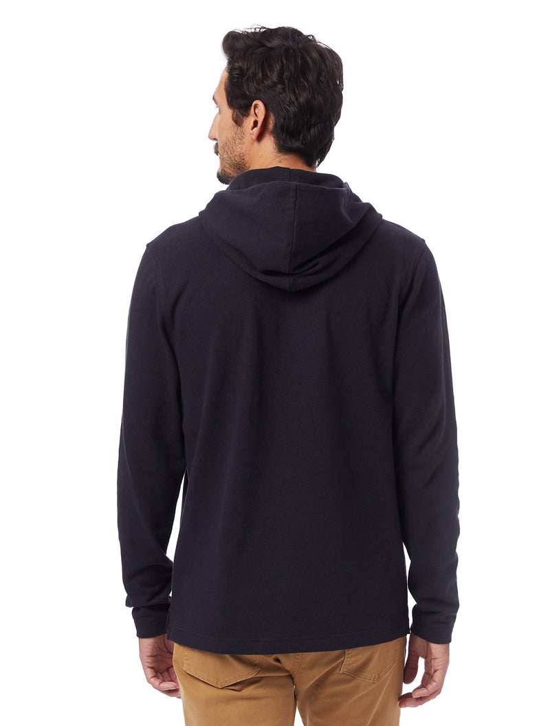 Alternative Apparel Recycled Cotton Hoodie- Black