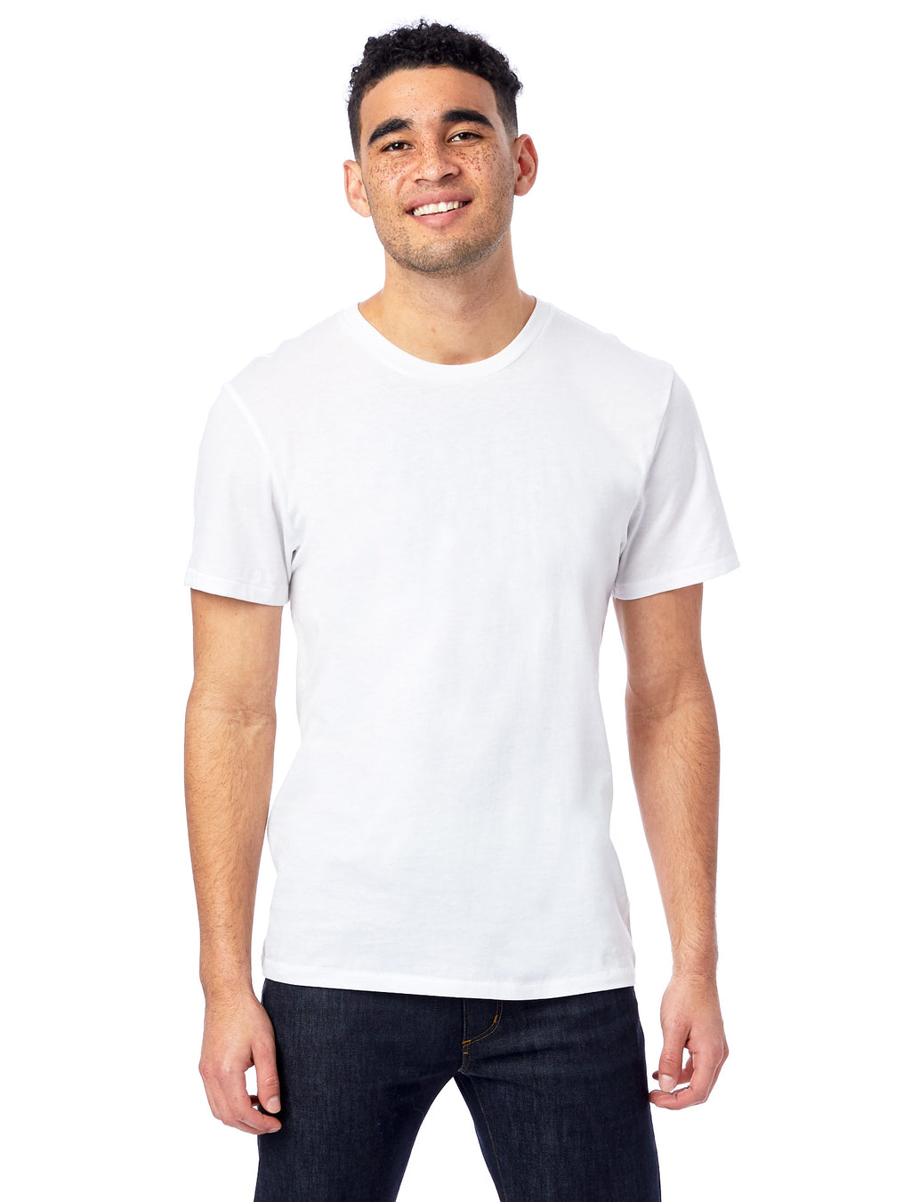 Alternative Apparel Organic Crew- White