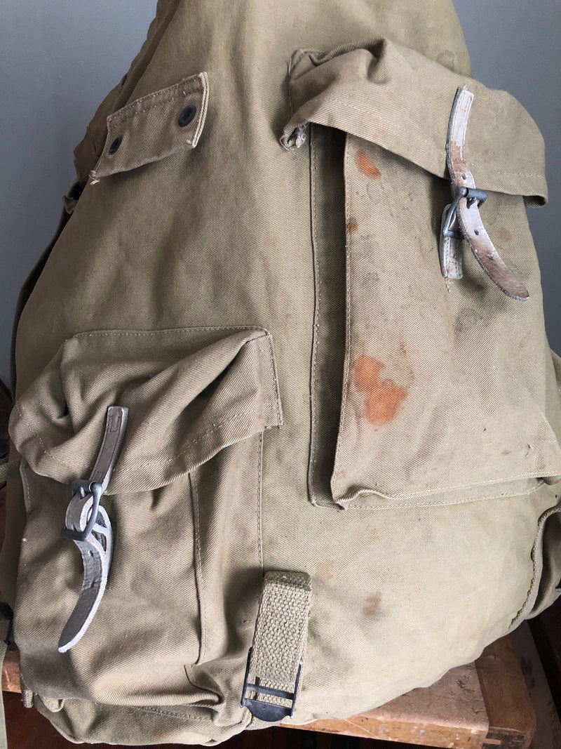 Camp Creek Vintage- 1942 WWII Mountain Division Back Pack