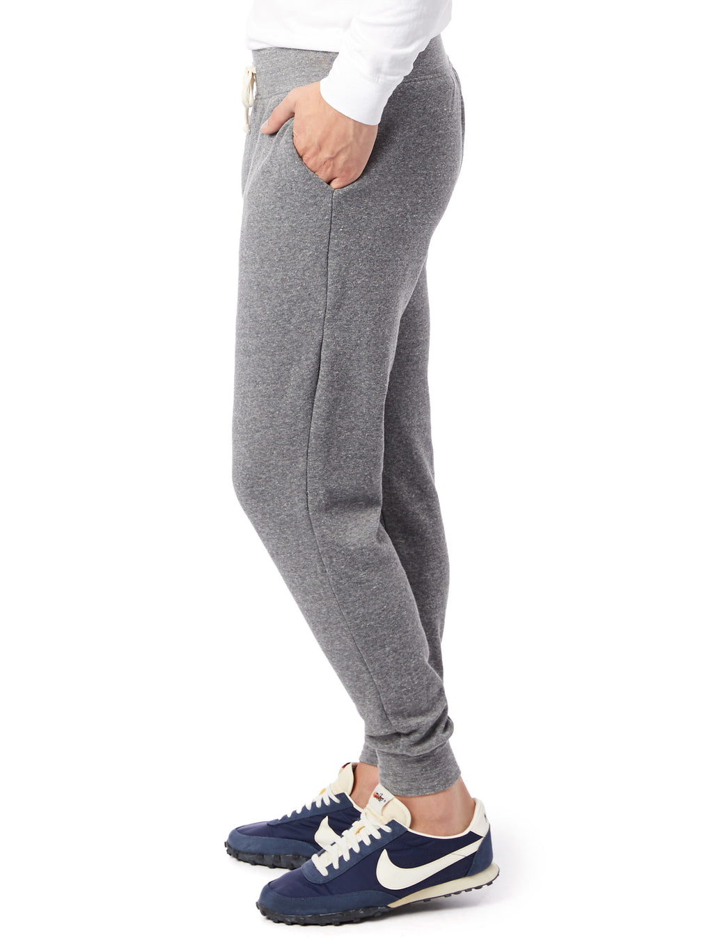 Alternative Apparel Eco-Fleece Dodgeball Pant- Grey