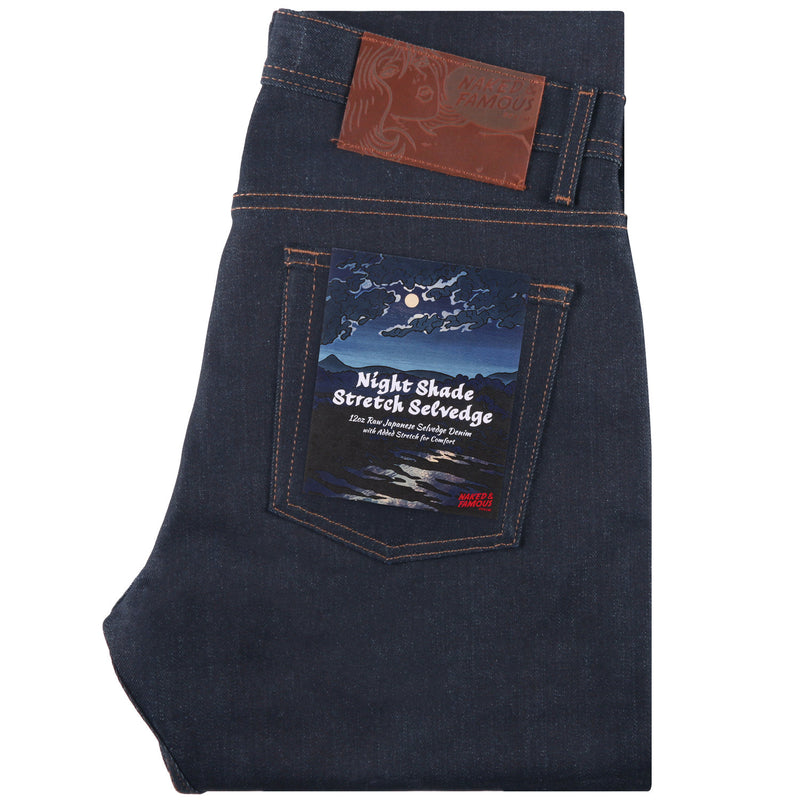 Naked and Famous- Nightshade Stretch Selvedge- Weird Guy