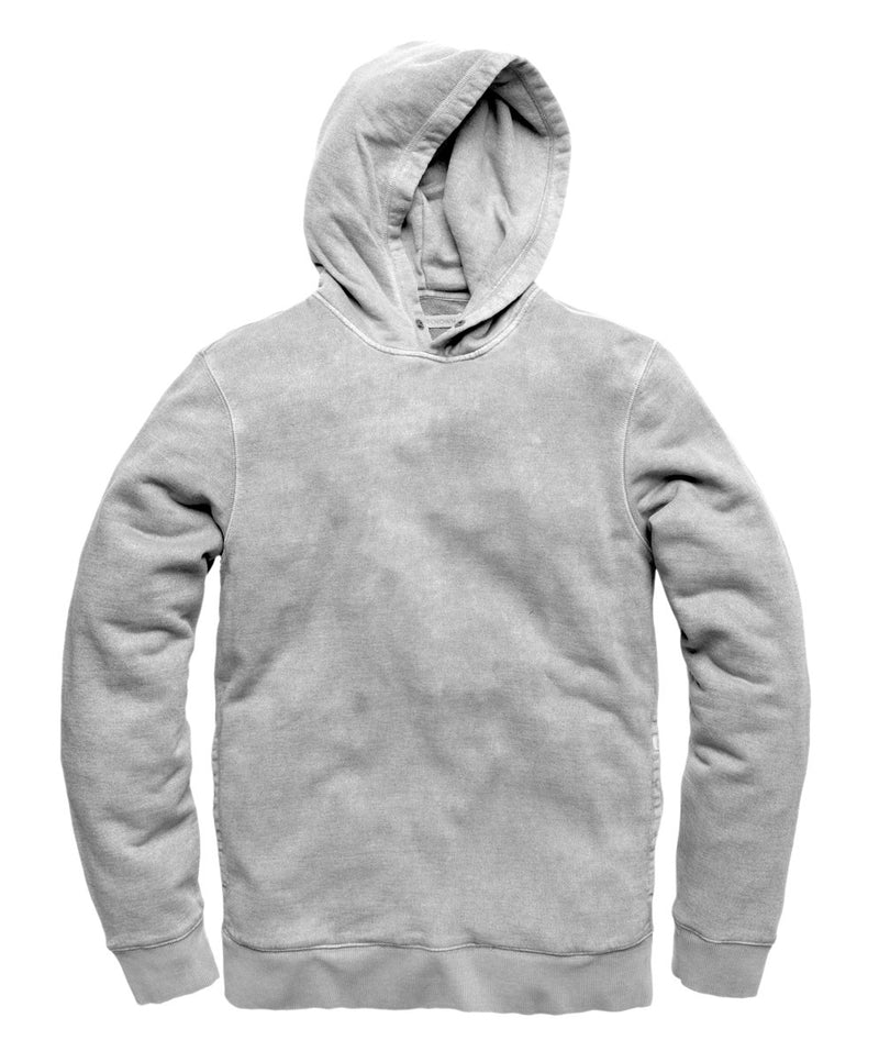 Outerknown- SUR Snap Hoodie- Heather Grey