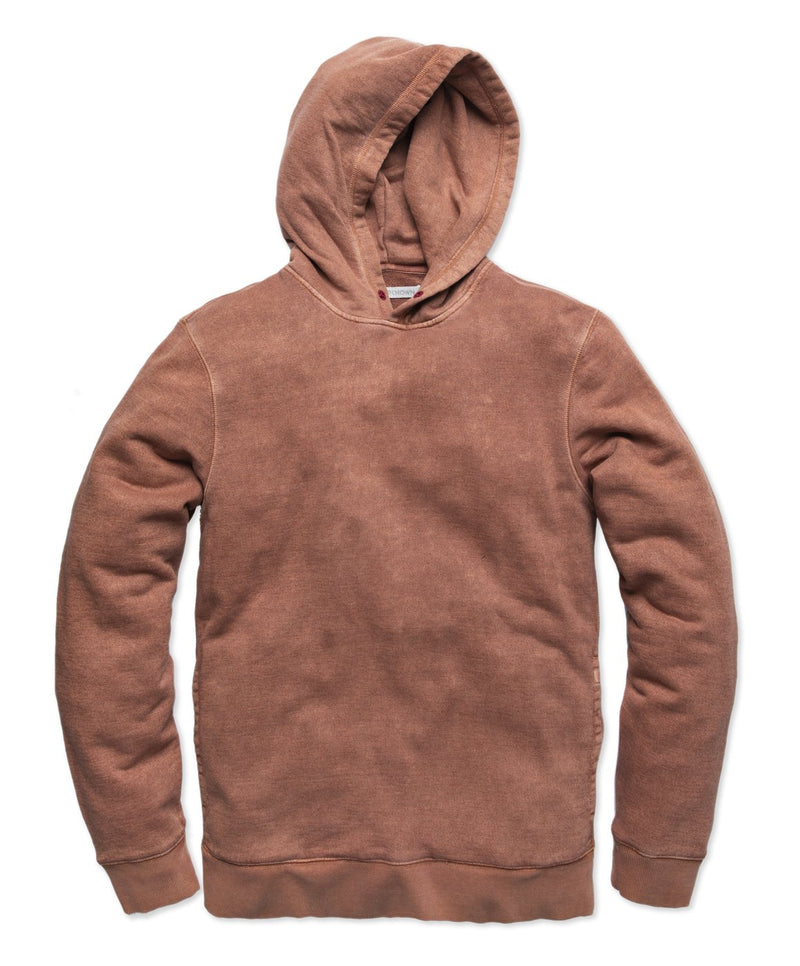 Outerknown- SUR Snap Hoodie- Henna