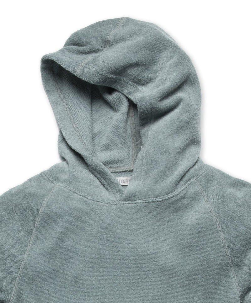 Outerknown- Hightide Pullover Hoodie- Ash Blue