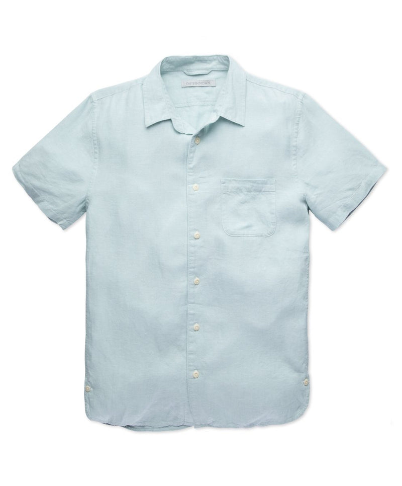 Outerknown- Beachcomber Shirt- Winter Sky