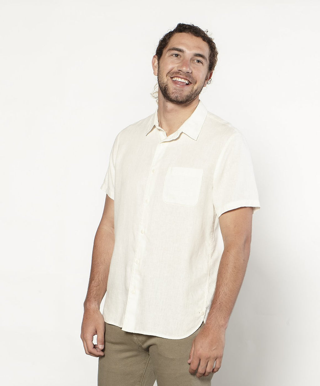 Outerknown- Beachcomber Shirt- Salt
