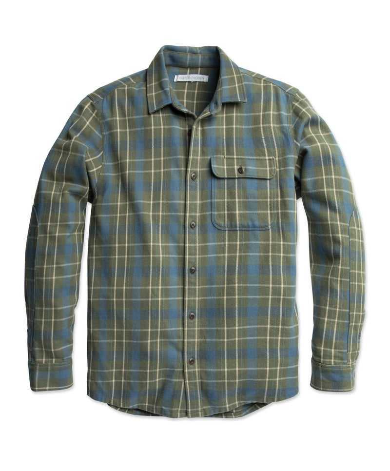OuterKnown- Rambler Shirt Mangrove Pacific Plaid